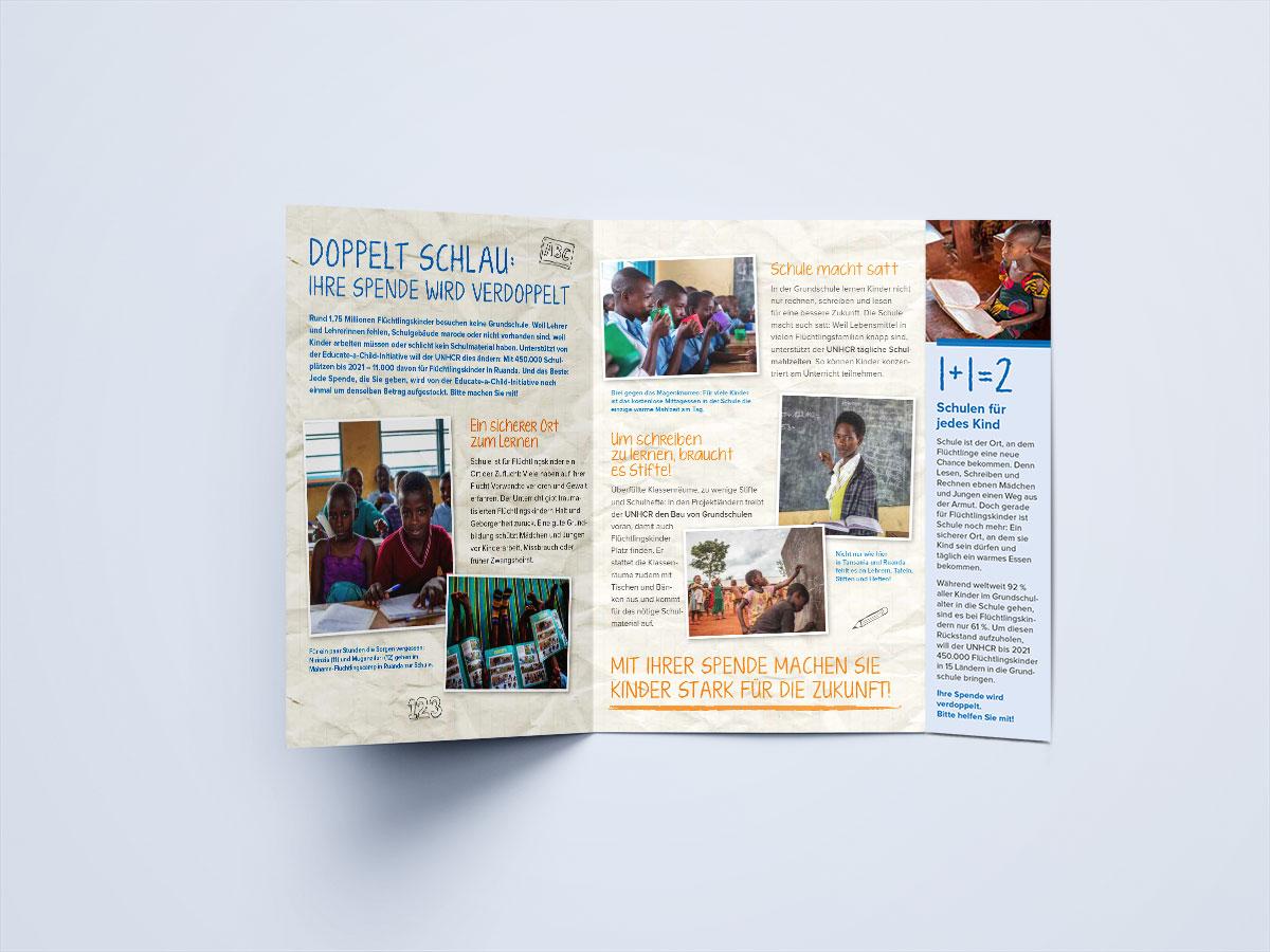 Direct Mailing UNO-Flüchtlingshilfe