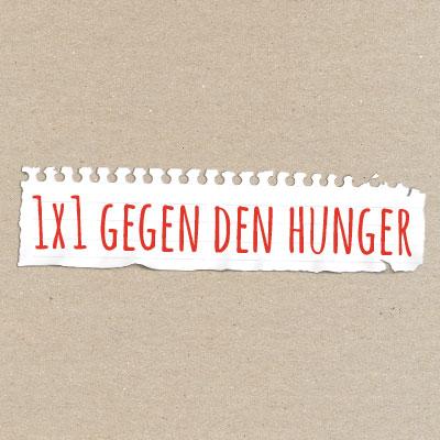 1×1 gegen den Hunger